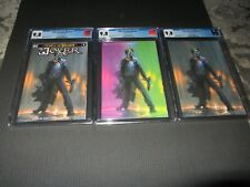 Joker: Year of the Villain Dell' Otto Variant set of 3, all CGC 9.8 (DC 2019)
