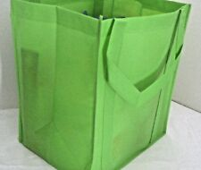 Heavy Duty Reusable GROCERY BAG - LIME GREEN - Large Size - Shopping Tote