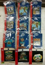 Brand New Super Bowl XXXVII 37 San Diego 2003 Collectible Pin Lot of 12 Pins