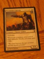 1x Perimeter Captain, NM, Worldwake, EDH Commander Wall Defender Tribal Tough