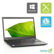 """Custom Build Lenovo ThinkPad T470S 14"""" Laptop Core i7 Min 2.70GHz Grade A v.WCA"""