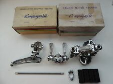 Vintage NOS Campagnolo Early Nuovo Record derailleur/shifter set MINT BOXED