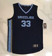 FANATICS Marc Gasol Memphis Grizzles Navy Blue Men Large Icon Official Jersey
