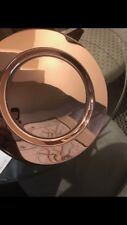 30cm Rose Gold Charger Plates Polished Stainless Steel (4pc set)