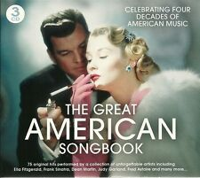 THE GREAT AMERICAN SONGBOOK 3 CD BOX SET - OVER THE RAINBOW & MANY MORE