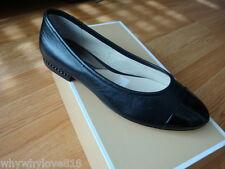 NIB New Women MICHAEL Michael Kors Sabrina Ballet Flat Black Size 6
