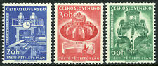 Czechoslovakia 1020-22,MNH. 3rd Five Year Plan.Rolling mill,Turbo generator,1961