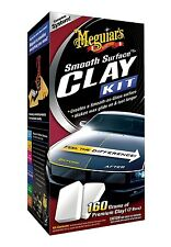 Meguiar's SMOOTH SURFACE CLAY KIT 2 Clay Bars, Quick Detailer HIGH QUALITY NiB