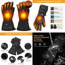 Alritz Heated Gloves For Men Women, 7.4V 2500Mah Rechargeable Battery Heated Win