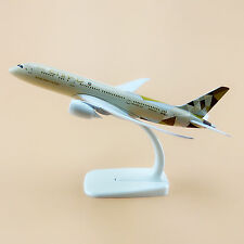 Air Etihad Boeing 787 B787 Airlines Aircraft Gift Airplane Model Plane 20cm