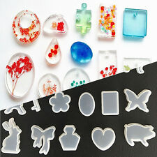 1PC Clear Silicone Mold Making Jewelry Pendant Resin Casting Mould Tools DIY Hot