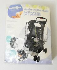 Babies R Us Clear Vinyl Stroller Mesh Protection Weather Shield