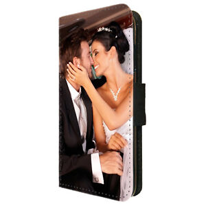 Personalised Wallet Phone Case Custom Photo Picture for iPhone 6 7 8 X XR 11 12