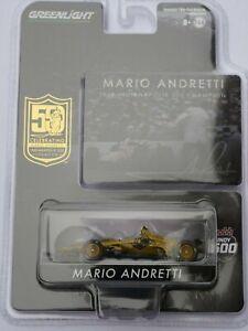 Greenlight Diecast 10853 Mario Andretti 50th Anniversary Indy 500 1:64