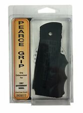 Pearce Grip Rubber Finger Groove Insert for Colt Government Model 1911 & Variant