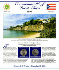 Puerto Rico Quarters P&D 2009 (Postal Panel Collection) PCS