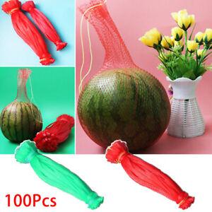 100PCS Shopper Totes Fruit Nylon Mesh Bag Plastic Weaving Net Handbag