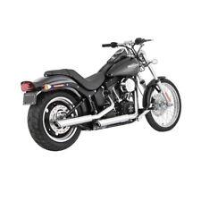 Vance & Hines Twin Slash Slip-Ons Chrom, f. Harley - Davidson Softail 07 - 16