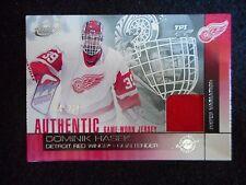 2002-2003 DOMINIK HASEK ATOMIC JERSEY CARD #6 JERSEY CARD