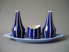 Rare Hornsea Pottery Elegance (Remodelled) Cruet Set 1960 Clappison (Slight A/F)