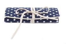 Blue Spot Jewellery Roll