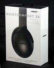 Bose QuietComfort 35 QC35 Noise Cancelling Wireless Headphones - Black