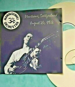 mahavishnu orchestra-john mcglaughlin)-switzerland 1972-rare 2disc set