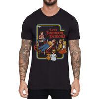 Lets Summon Devil Men Funny T-shirts Short Sleeve Cotton Tops Summer Tee shirts