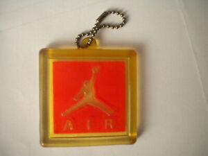"Michael AIR JORDAN Nike Logo tag rubber keyring keychain keychain 2.75"" (6,5cm)"