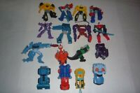 TRANSFORMERS ROBOTS IN DISGUISE COMPLETE MCDONALDS HAPPY MEALS SET 16 LOOSE 2016