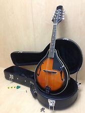 Smoky Mountain Sm64vsb A-style F-holes Mandolin Sunburst W/lockable Hard Case