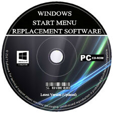 Windows 7 Style Start Menu - Bring The Start Button Back to Windows 8 8.1 10 CD