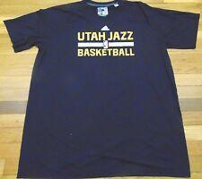ADIDAS NBA AUTHENTIC UTAH JAZZ BLACK SHORT SLEEVE CLIMALITE SHIRT SIZE 2XL