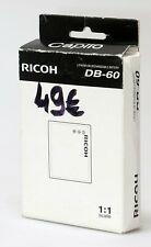 Ricoh Batterie DB 60 pour Ricoh GR, GRDIII, GRD IV et GX