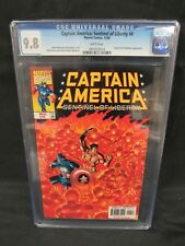 Captain America: Sentinel of Liberty #4 (1998) Human Torch Appears CGC 9.8 C875