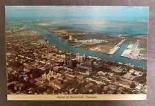 """Savannah, Georgia """"Aerial of Savannah, Georgia"""" Postcard"""