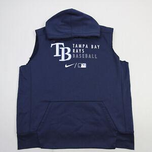 Tampa Bay Rays Nike MLB Authentic Sweatshirt Men's Navy Used