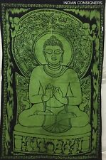 Tapestry Cotton Lord Buddha Small Poster Wall hanging Home Decor Indian Hippie
