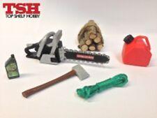 TSH 1/10 Scale Crawlerman Logger Bundle RC Crawlers Scale Garage Parts!