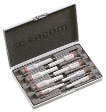 Facom AEF.J6 8pce Flat, Pozi & Phillips® Micro-Tech Precision Screwdriver Set