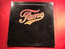 L1-75 FAME The Original Motion Picture Soundtrack .... WHITE LABEL PROMO .. 1980