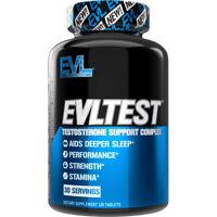 Evlution Nutrition EVL TEST Testosterone Booster | Muscular Strength & Stamina