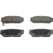 Disc Brake Pad Set-ThermoQuiet Disc Brake Pad Rear Wagner QC954