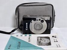 Appareil Photo Compact argentique CANON Ixus L-1 APS Film Camera + HOUSSE/PILE