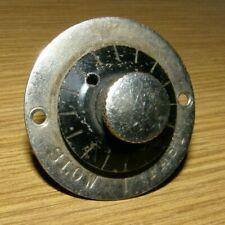 Antique phonograph speed control knob part