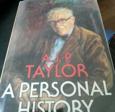 A Personal History by A. J. P. Taylor (1983, Hardcover)