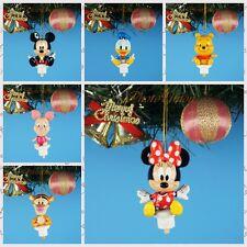 CHRISTBAUMSCHMUCK Ornament Deko Disney Mickey Minnie Winnie Piglet Tigger Set6