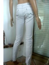 JEANS GRIS CLAIR STRETCH ET SKINNY SANDERS T 36 5 % ELASTHANNE TBE