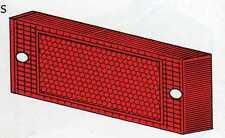 Plastica fanalino posteriore dx rosso con catadiottro Fiat 131