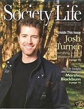 Josh Turner cover Society Life magazine 2009